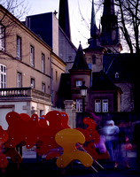 015-45 Cathedrals and Playground - Luxembourg City, Luxembourg